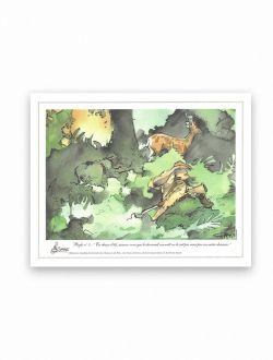 Dessin chasse Règle n°5 d'Antoine Faure