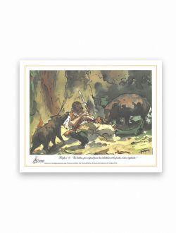 Dessin chasse Règle n°6 d'Antoine Faure