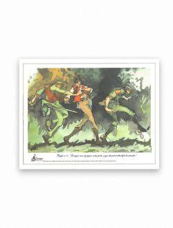 Dessin chasse Règle n°8 d'Antoine Faure