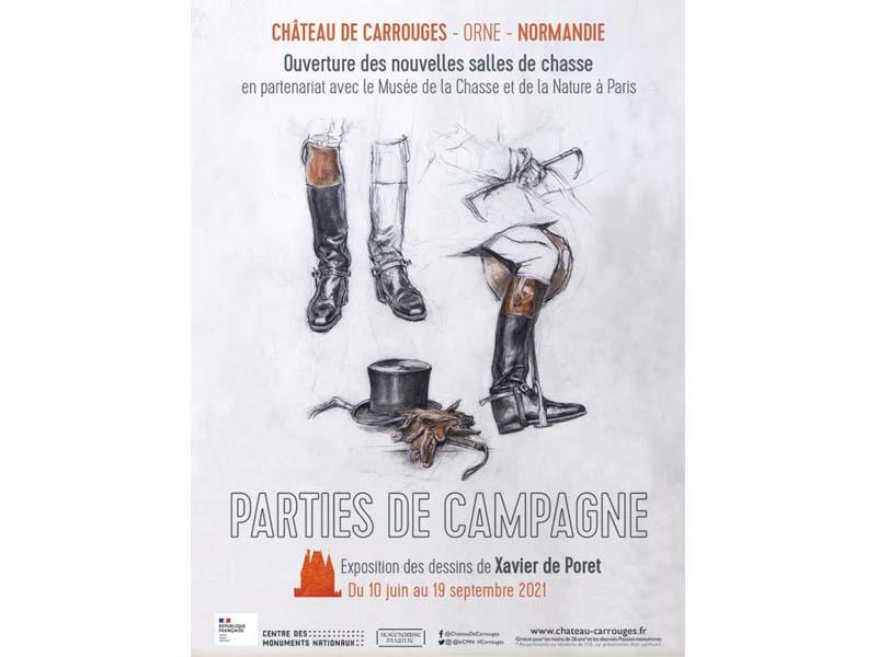 Une exposition consacrée à Xavier de Poret à Carrouges