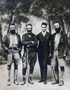 Les frères explorateurs Theodore Jr et Kermit Roosevelt