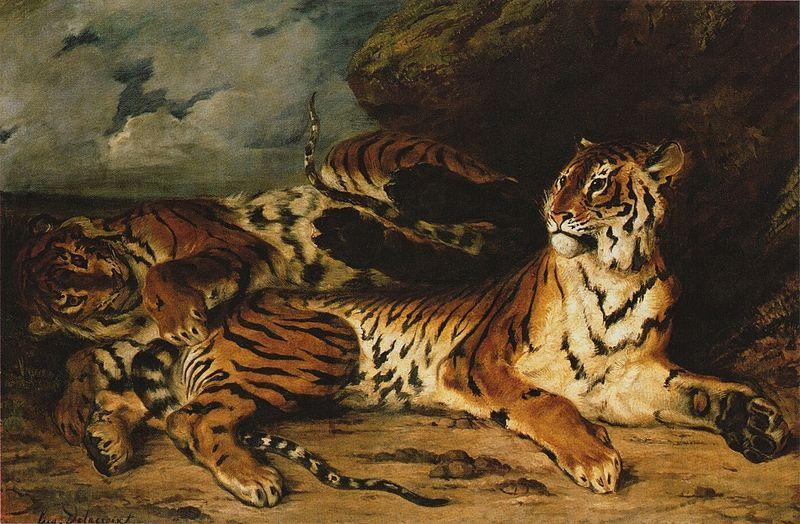 Delacroix et les animaux : la liberté et la vie