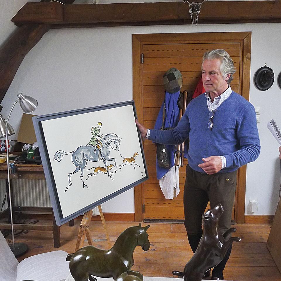 Olivier Jouanneteau : la fibre animalière