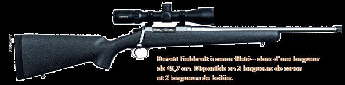 Présentation Barrett Fieldcraft. La carabine d'approche