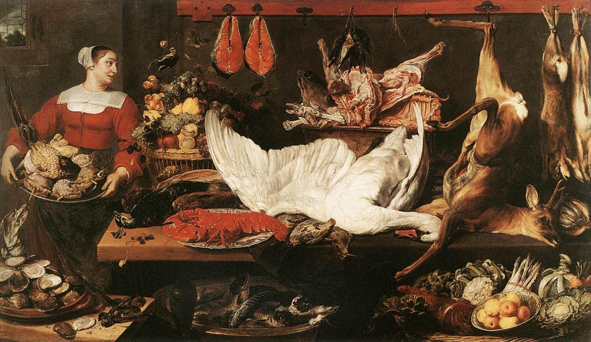 Frans Snyders : une vie pour la nature morte