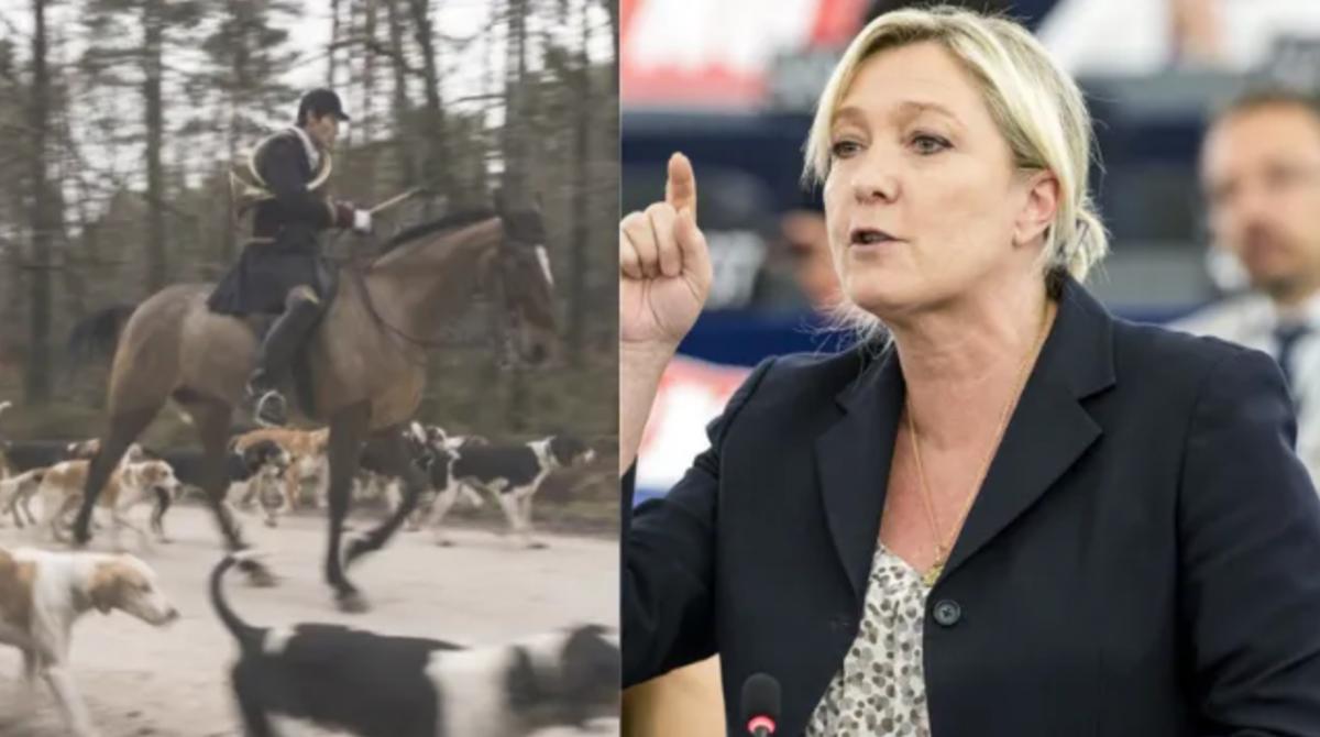 Marine Le Pen et la chasse à courre : un numéro d'équilibriste