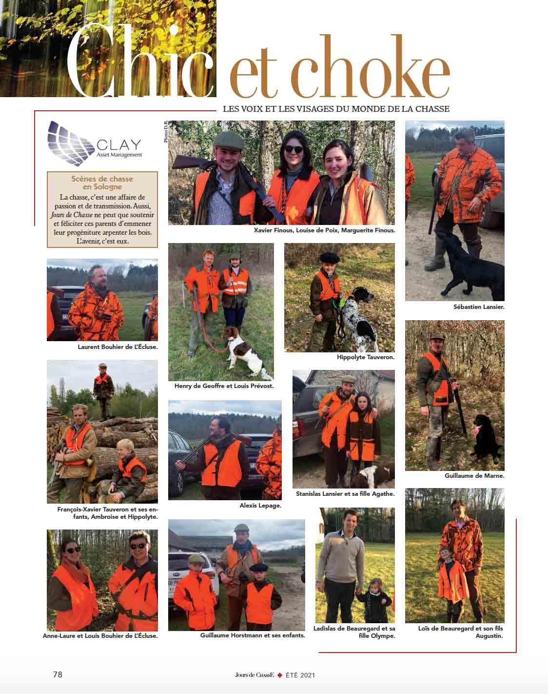Scènes de chasse en Sologne