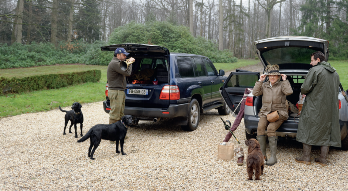 Battue de faisans de haut vol au domaine la Haute-Porte à Sablé-sur-Sarthe (72)