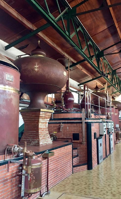 Distillerie de Moisans. Du cognac à la mixologie