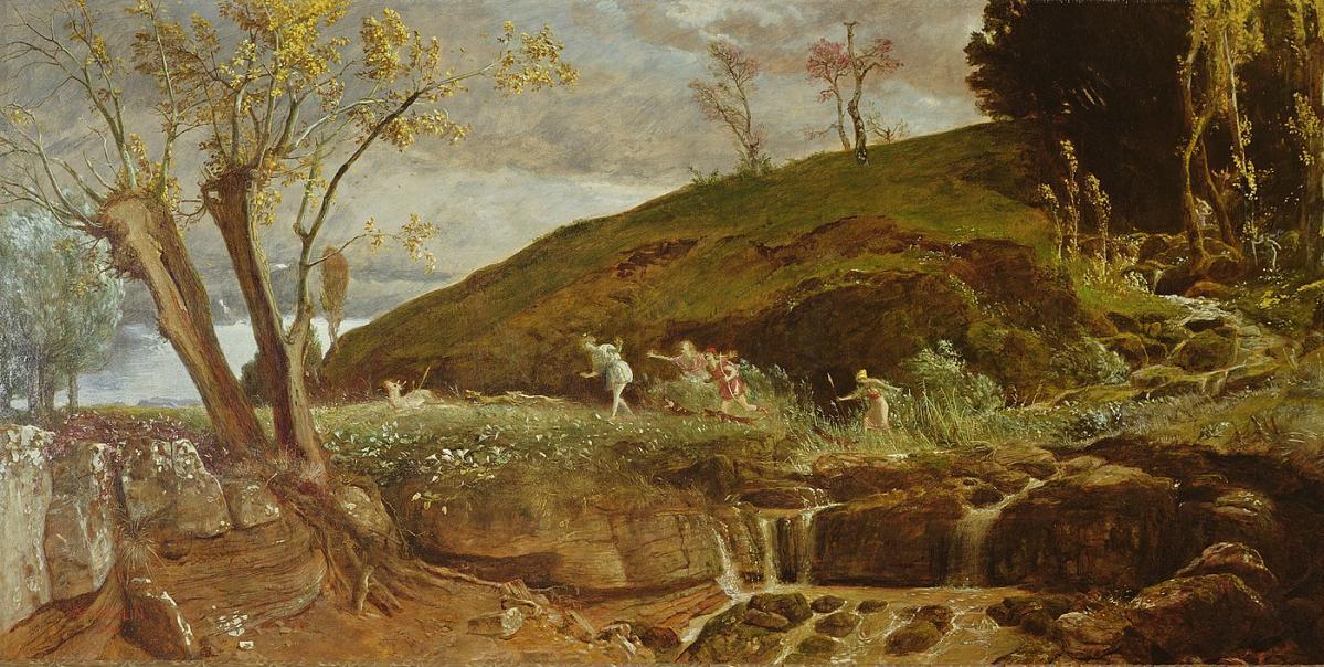 Arnold Böcklin, La chasse de Diane