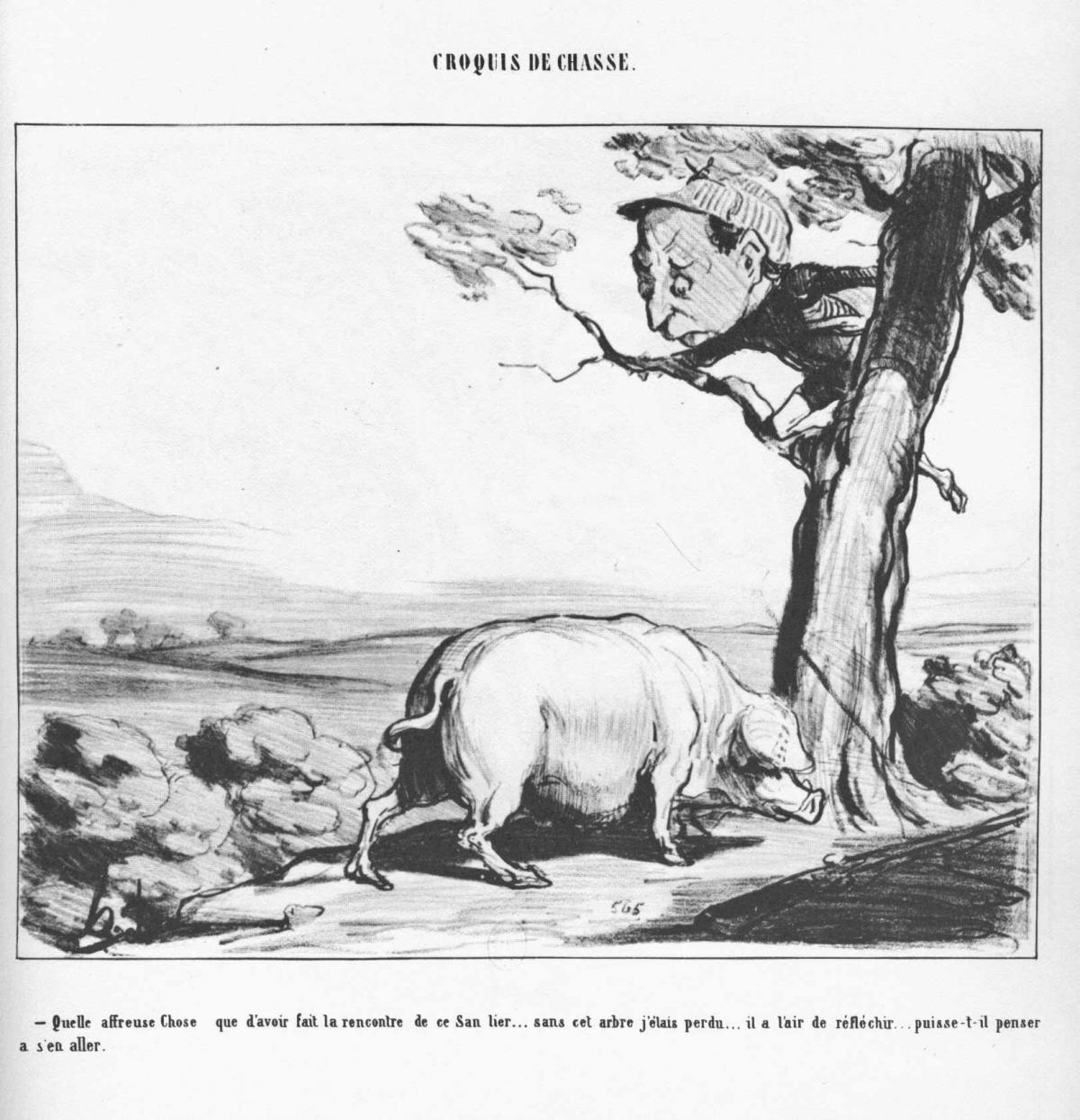 Honoré Daumier : le Plantu de la chasse
