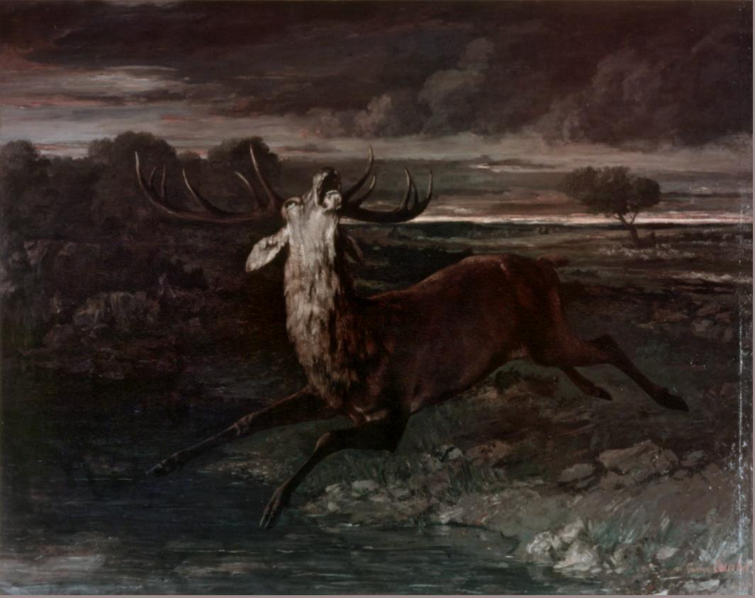 Gustave Courbet : l'ogre insolent